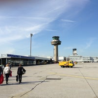 Photo taken at Salzburg Airport W. A. Mozart (SZG) by Bert S. on 3/8/2013