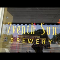 Photo taken at 7venth Sun Brewery by Terry M. on 4/19/2013