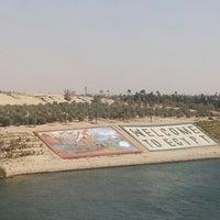 Photo taken at Suez Canal by Gökhan K. on 2/10/2015