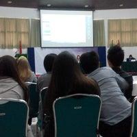 Photo taken at Universitas Katolik Parahyangan (UNPAR) by Fatinizzy on 1/24/2015