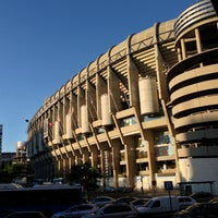 Photo taken at Santiago Bernabéu Stadium by Cipri on 6/21/2013