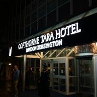 Photo taken at Copthorne Tara Hotel by Kimihiko K. on 10/19/2012