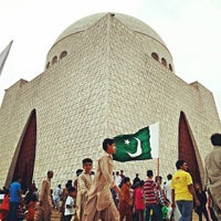 Photo taken at Mazar-e-Quaid by Arsalan M. K. on 8/14/2013