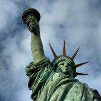 Photo taken at Statue of Liberty by James C C. on 5/31/2013