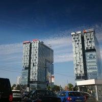 Photo taken at Piața Presei Libere by 'Paul' M. on 5/12/2013
