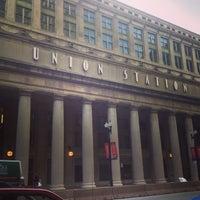 Photo taken at Chicago Union Station by Bridgid B. on 6/23/2013