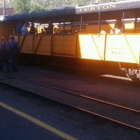 Photo taken at Durango & Silverton Narrow Gauge Railroad Co. by Katie R. on 6/12/2012