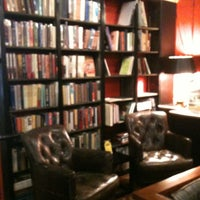 Photo taken at Battery Park Book Exchange And Champagne Bar by Lindsey H. on 9/6/2012