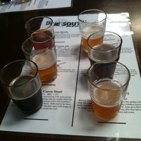 Photo taken at Due South Brewing Co. by Amelia F. on 9/2/2012