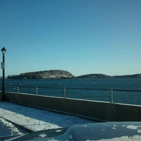Photo taken at Bar Harbor Pier by Tom A. on 2/12/2012