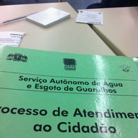 Photo taken at Prefeitura de Guarulhos by Eduardo P. on 5/4/2012