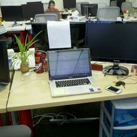 Photo taken at GREE Intl Temporary Office by Richard D. on 2/29/2012