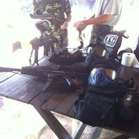 Photo taken at Paintball Valley by Eason H. on 4/15/2012