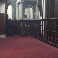 Photo taken at St. Mark's Church by Rania Y. on 2/10/2012