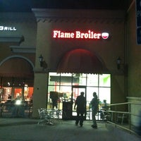 Photo taken at The Flame Broiler by Traci E. on 2/14/2012