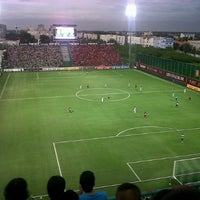 Photo taken at Leo Stadium by Freedom M. on 9/2/2012