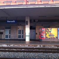 Photo taken at Stazione Vercelli by Cecilia A. on 3/25/2012