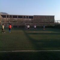 Photo taken at Complejo Deportivo Y Recreativo FCAB by Mauricio A. on 3/7/2012