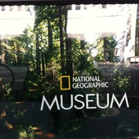 Photo taken at National Geographic Museum by Daloha R. on 5/29/2012