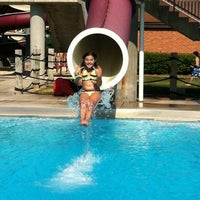 Photo taken at Barrington Aqualusion Aquatic Center by Colleen on 7/15/2012