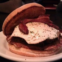 Photo taken at DMK Burger Bar by Christina Y. on 3/4/2012