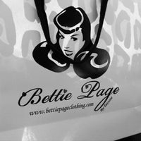 Photo taken at Bettie Page Store by Adriene on 8/31/2012