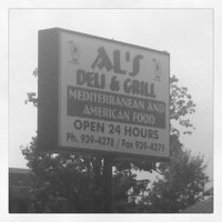 Photo taken at Al's Deli And Grill by Ejaz M. on 9/3/2012