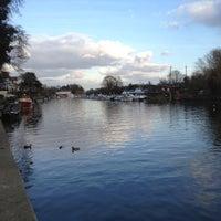 Photo taken at Sunbury lock by Martin B. on 2/26/2012