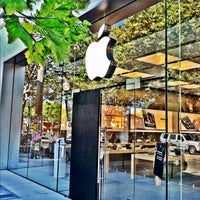 Photo taken at Apple Store, 4th Street by Chad W. on 7/7/2012
