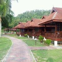 Photo taken at Teluk Dalam Beach Resort by Keyrol D. on 8/25/2012