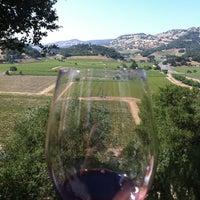 Photo taken at Silverado Vineyards by Eric V. on 5/19/2012