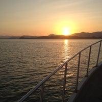 Photo taken at Ao Por Pier by Shanutshakarn P. on 2/11/2012