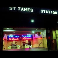 Photo taken at St James Station by Donny M. on 5/9/2013