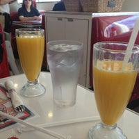 Photo taken at Ruby's Diner by Amy K. on 11/11/2012