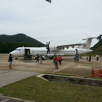 Photo taken at Redang Island Airport (RDN) by Hoong Chang 陈宏樟 C. on 10/12/2013