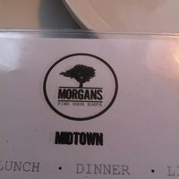 Photo taken at Morgan's Restaurant by Betty M. on 3/3/2013