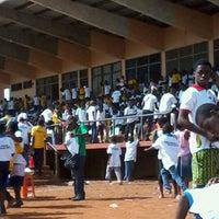 Photo taken at Ho Sports Stadium by Eli K. on 12/1/2012
