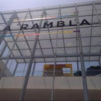 Photo taken at C.C. La Rambla by César A. on 1/24/2013
