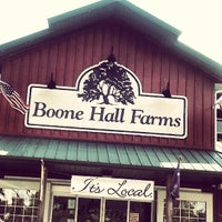 Photo taken at Boone Hall Farms by Pamela R. on 6/27/2013