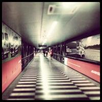 Photo taken at RapidKL KLCC (KJ10) LRT Station by Kriz A. on 4/21/2013