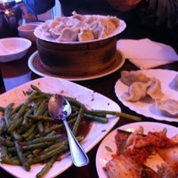Photo taken at Mother's Dumplings by James G. on 12/27/2012