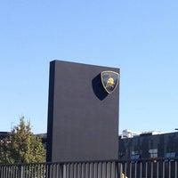 Photo taken at Automobili Lamborghini S.p.A. by Nataly I. on 9/4/2013