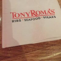 Photo taken at Tony Roma's: Ribs, Seafood & Steaks by Angie T. on 3/4/2016