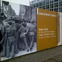 Photo taken at Checkpoint Charlie by Sad S. on 11/3/2012