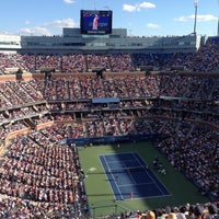 Photo taken at US Open Tennis Championships by Jacob U. on 9/8/2013