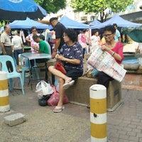 Photo taken at Gaya Street by Monsopiad Y. on 6/19/2016