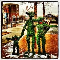 Photo taken at Crocker Park by Benjamin S. on 12/24/2012