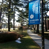 Photo taken at Gordon College by Kapado F. on 1/17/2014