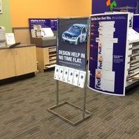 Photo taken at FedEx Office Print & Ship Center by Dan Q. on 1/14/2014