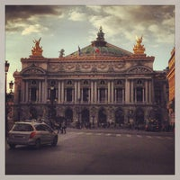 Photo taken at Place de l'Opéra by Sergio S. on 5/5/2013